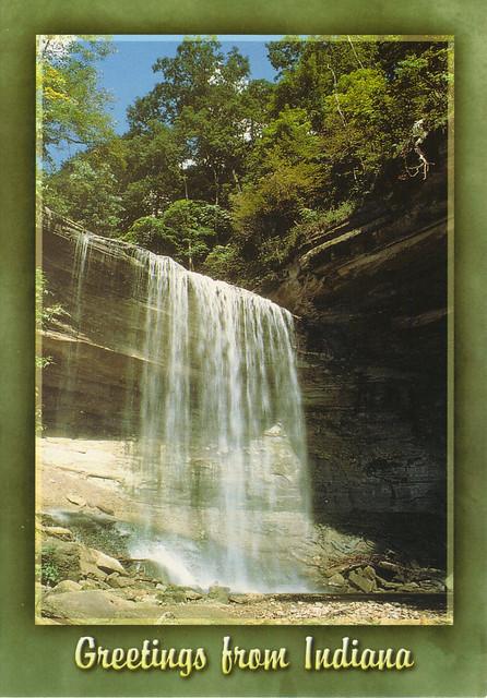 Clifty Falls Postcard