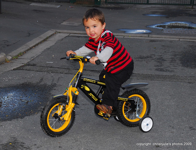 second birthday and new bike