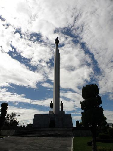 P8090163 Monumento a los Hermanos Serdan Puebla.,Puebla Mexico por LAE Manuel Vela