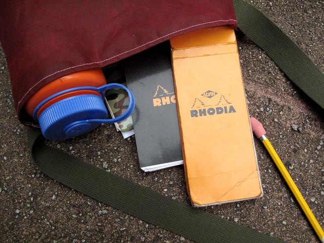 Rhodia in the bag