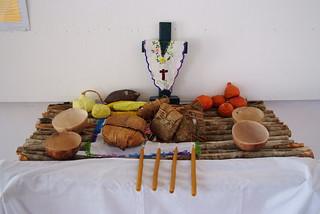 Altar del museo de Tihosuco   by mayasinfronteras