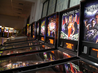 Pinball Hall of Fame - new machine row | by driph