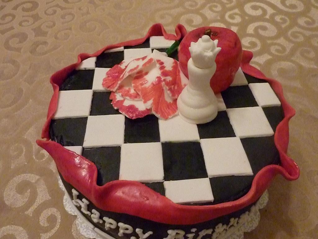 Wondrous Twilight Birthday Cake Chocolate Cake With Raspberry Filli Flickr Funny Birthday Cards Online Overcheapnameinfo