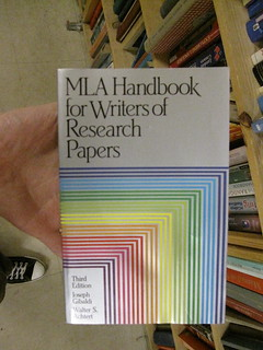 MLA Handbook for Writers of Research Papers | by bjornmeansbear