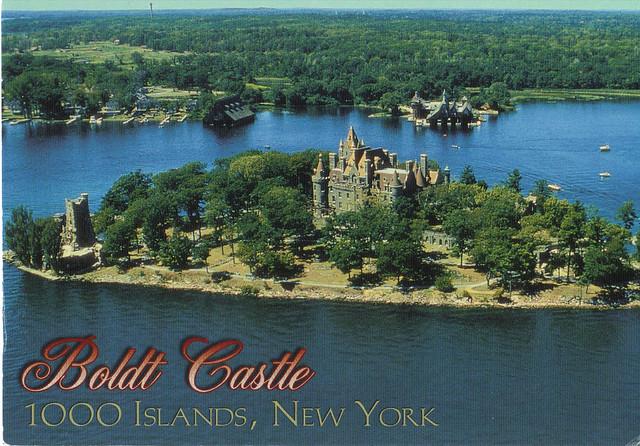 Boldt Castle New York Postcard