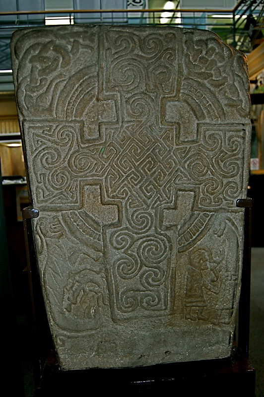 Inchbrayock (Inchbraoch) Stone I [Front]