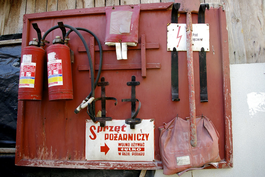 Sprzęt do gaszenia zapału / The gear to extinguish ardour