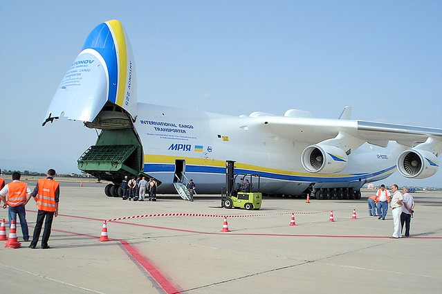 Antonov An-225 in Yerevan,Armenia