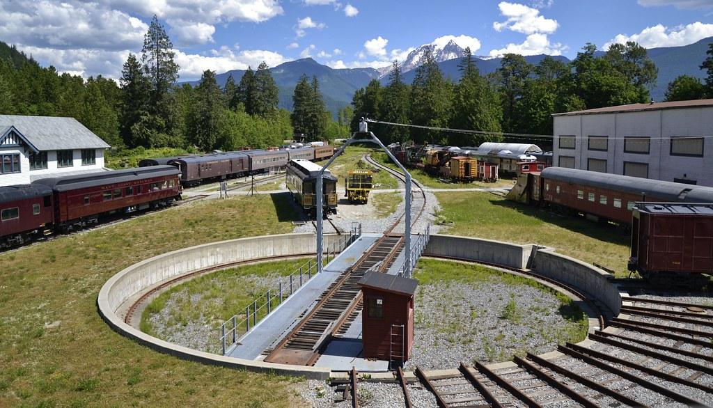 Railroad Turntable | West Coast Railway Heritage Park, Squam