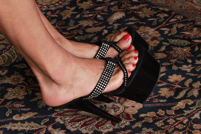 Red & Heels