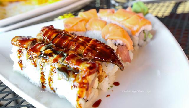 Maki w/ Eel, and Salmon - Bartini