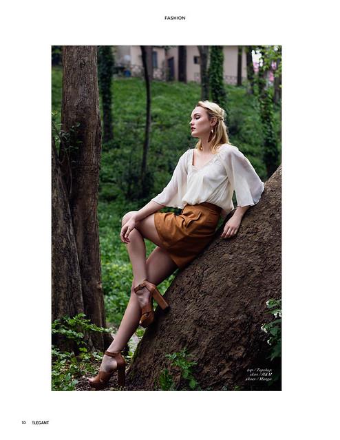 In Nature - Elegant Magazine Fashion #2 July Issue
