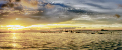 penang penangisland georgetown pulaupinang malaysia georgetownpenang my sunrises sunrise landscape seashore seascape nikon50mmf18g 50mmf18g nikond750 nikon ahweilungwei dovejetty jelutongexpressway jelutongfishermenwharf penangbridge goldenhour panorama panoramic sunlight sunshine