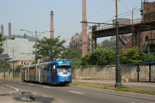 reșița stradapauliorgovici tram tramway streetcar strassenbahn tramvai düwag