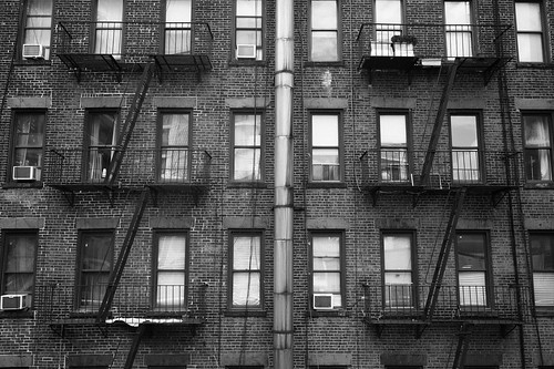 "Image titled ""Fire Escapes #1, NYC."""