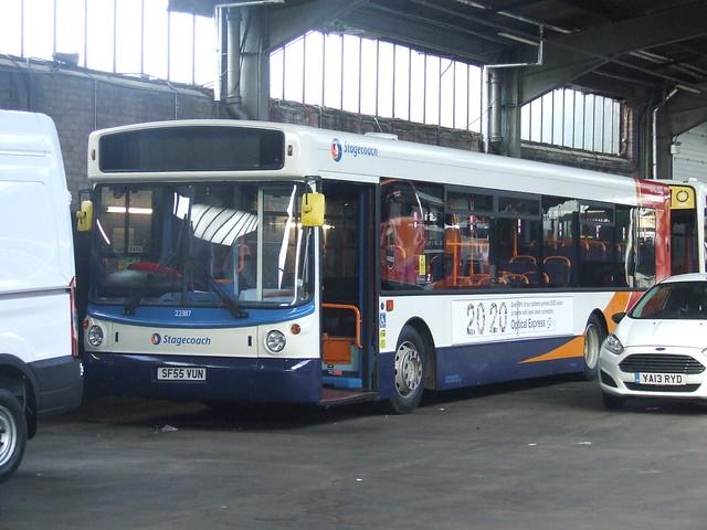 Stagecoach Glasgow SF55 VUN - 22387