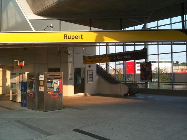 Rupert SkyTrain Station