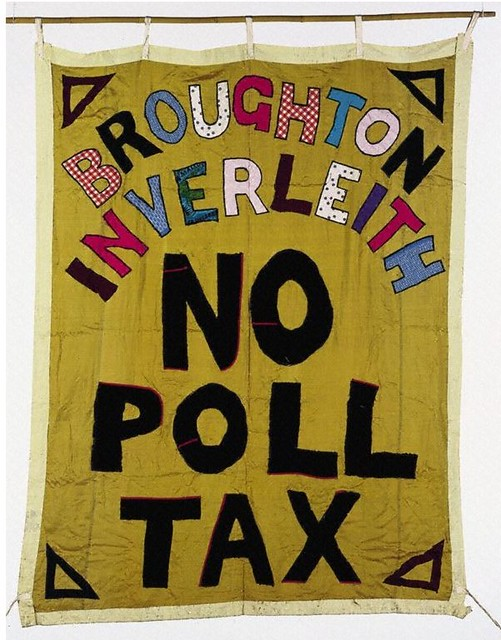 Broughton/Inverleith No Poll Tax Banner