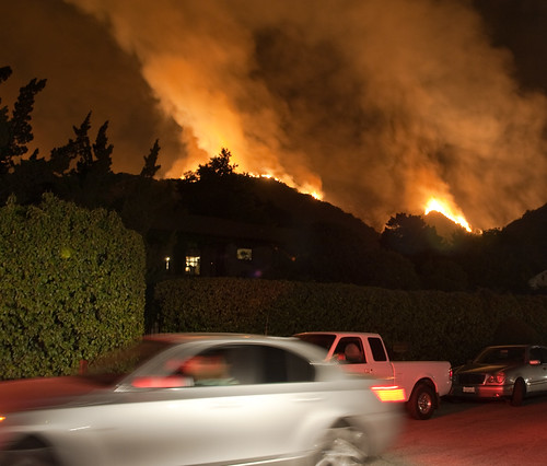 station fire - residents evacuate briggs terrace | by Anthony Citrano