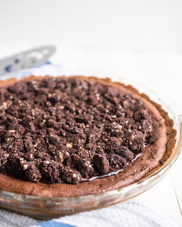Fudgy Brownie Pie | by Smells Like Home