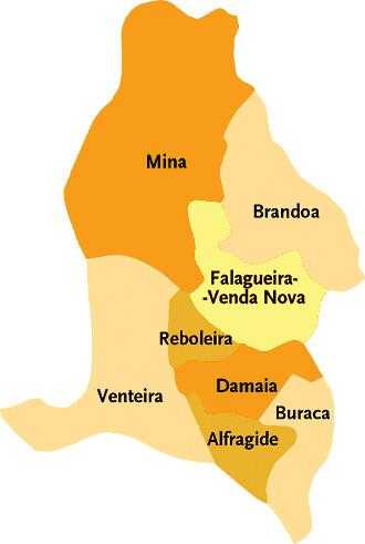Concelho Da Amadora Mapa Das Freguesias Jorge Bastos Flickr