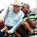 Goldman Thibodeaux and Guyland Leday at the 2009 Zydeco Breakfast