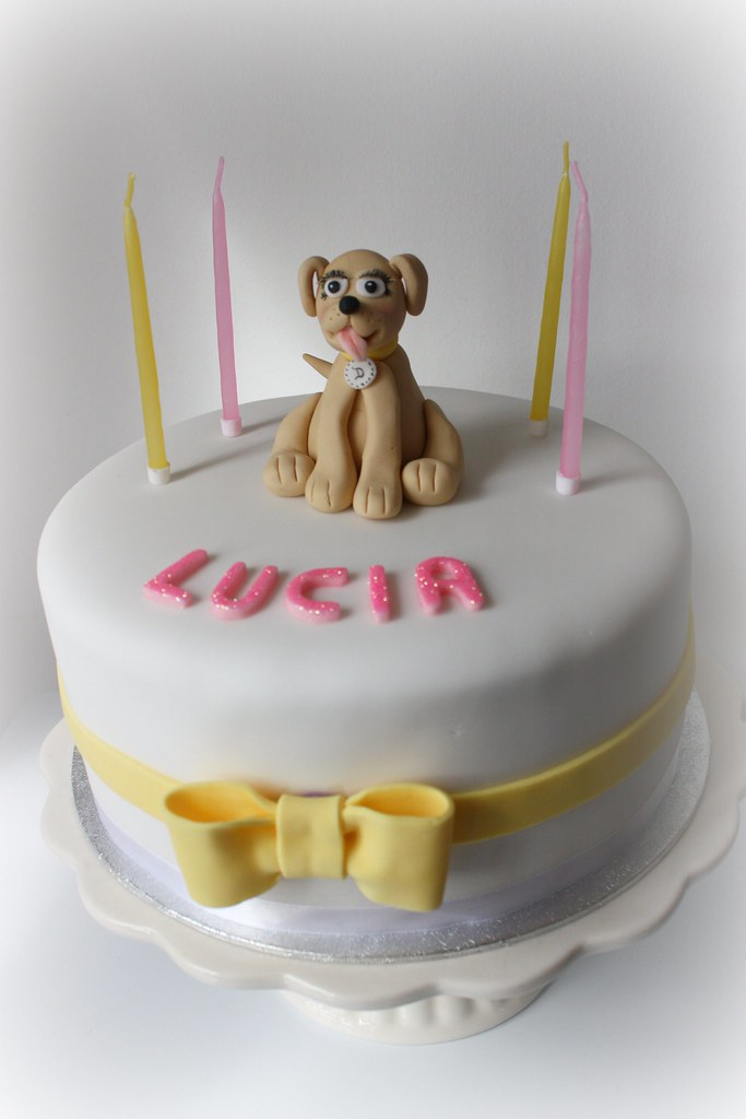 Prime Lucias Labrador Pup Birthday Cake The Day Before The New Flickr Funny Birthday Cards Online Necthendildamsfinfo