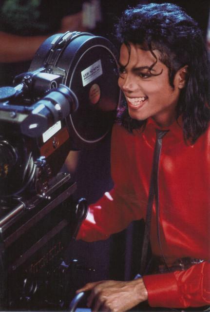 Michael Jackson Postcard