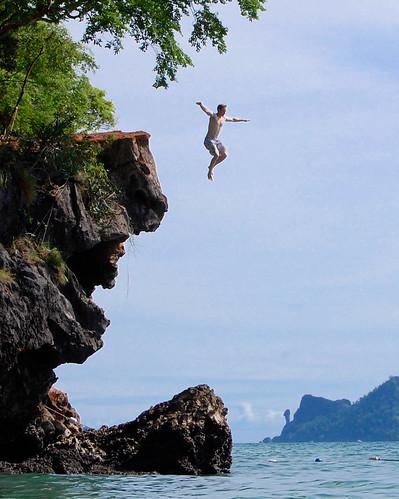 Leap of Faith - Krabi Thailand   by Mr Chris Johnson