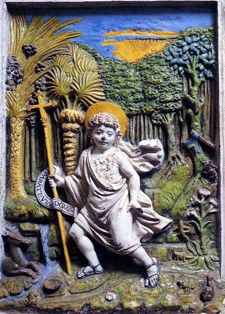 Giovanni della Robbia, Il Battista fanciullo nel deserto. Cerreto Guidi, San Leonardo