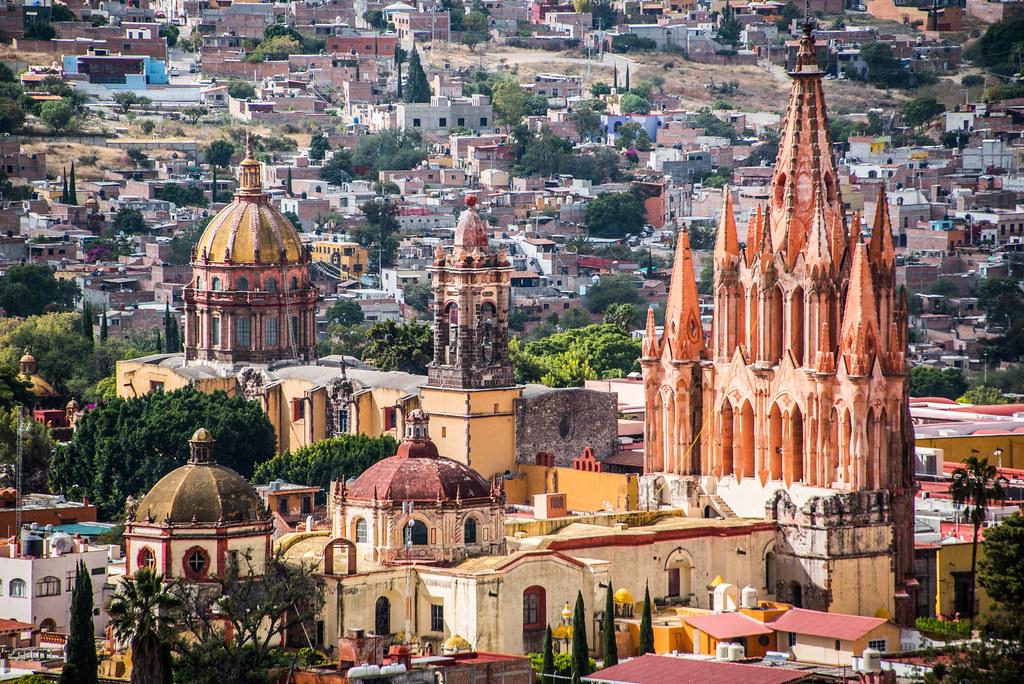 Mexico - San Miguel de Allende - Parroquia de San Miguel Arcángel