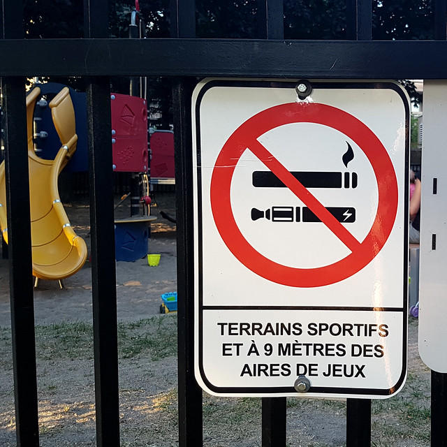No Smoking, No Vaping Sign