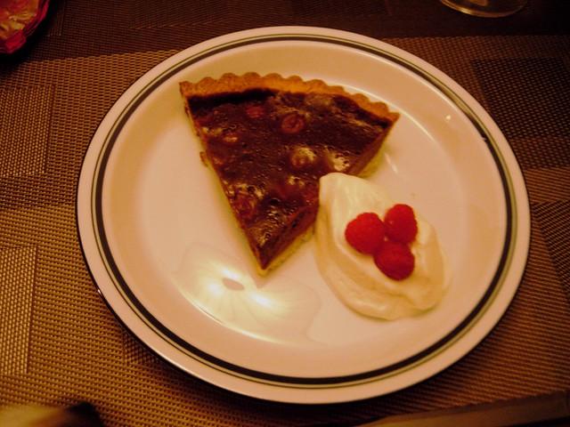 an excellent dinner demands an excellent dessert