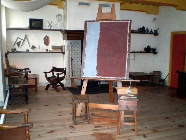 Pièce où  peignait Rembrandt