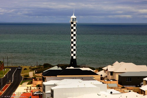 Bunbury Lighthouse (Formerly Marlston Hill Lighthouse) Relocated to Casuarina Point, Bunbury, Western Australia | by Black Diamond Images
