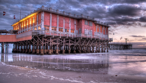 beach nature sunrise florida addicted daytonabeach daytona hdr bluetreephoto mylifeinhdrcom