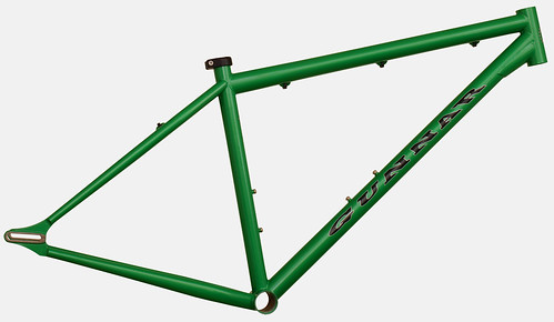 "<p>Gunnar Ruffian Single Speed in Quetzal Green Metallic  <a href=""http://gunnarbikes.com"" rel=""nofollow"">gunnarbikes.com</a></p>"