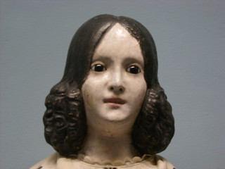 antique doll at the Shelburne Museum | by Kathryn Cramer