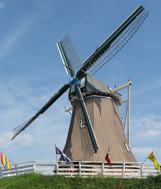 Windmill in Fulton Illinois