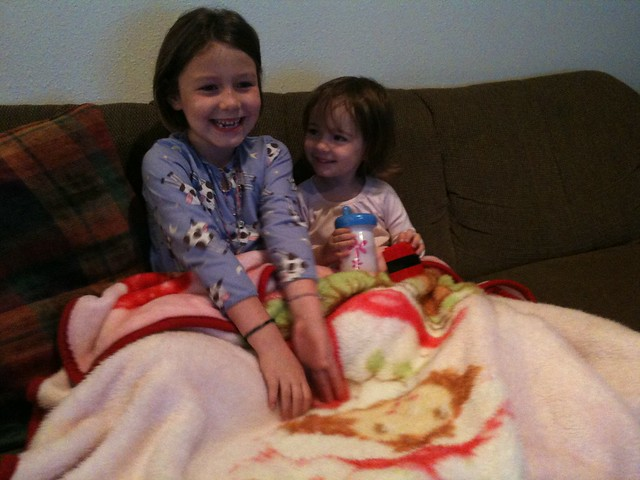 Leilani and Zoe Watching Videos