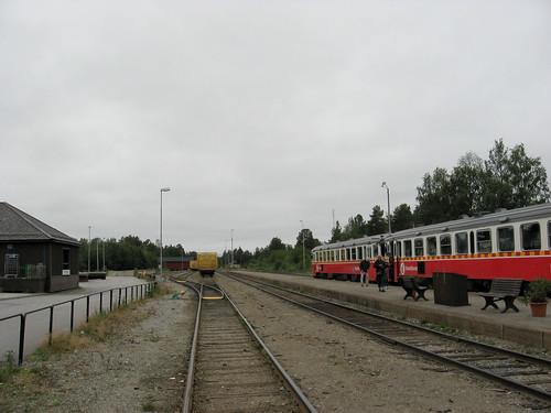 View from Storuman station | by larsjuh