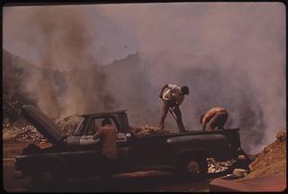 Open Garbage Dump on Highway 112, North of San Sebastian 02/1973
