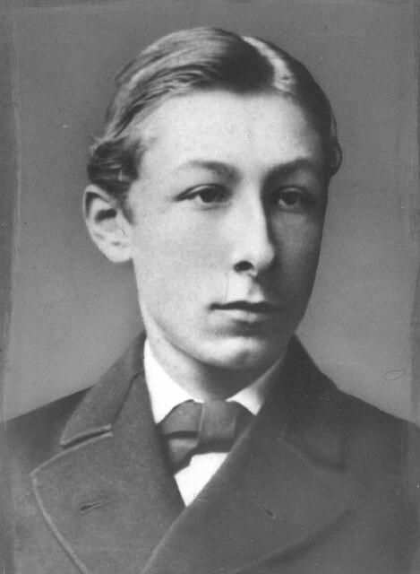 Pieter Jelles Troelstra 1876 Op De Rhbs Ca 1876 Iis
