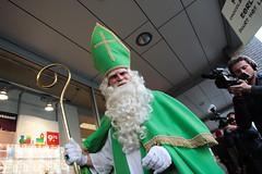 De Groene Sint onderweg naar Lidl