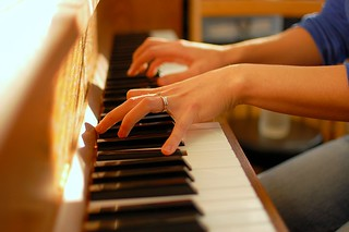 piano fingers | by seriousbri