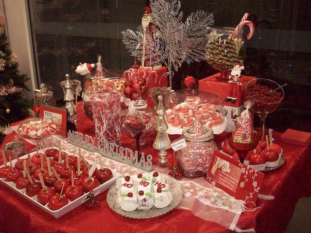 Christmas Candy buffet bar