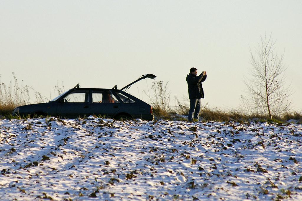 Zimowy kadr / Winter frame