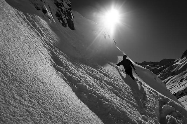 Climber in the Stubaier Alpen 01