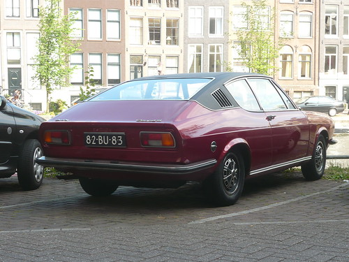 1972 AUDI 100 COUPE S   Seen in Amsterdam   Detailone   Flickr