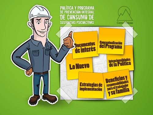 Prevención Integral de Consumo - Developed for: View Master